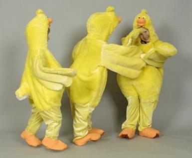 Kostüm Huhn Hüherkostüm Overall Huhn Kinder und Erwachsene - Vorschau 2