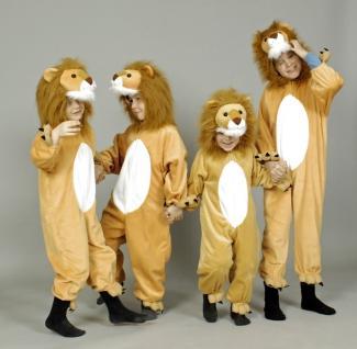 Kostüm Löwe Löwenkostüm Löwenoverall Kinder Kinderkostüm Löwe - Vorschau