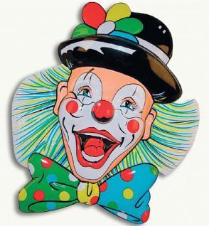 Deko - Clown ca. 70 cm - Vorschau