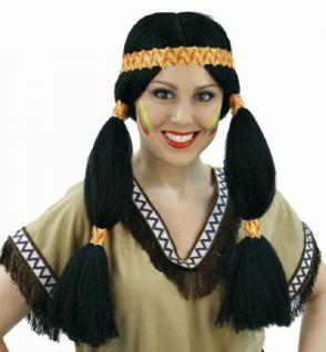 Perücke Cherokee Indianer Indianerin Indianerperücke