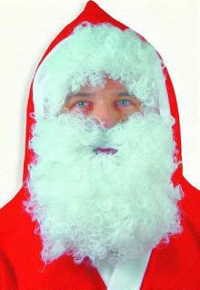 Bart und Perücke für Nikolaus Weihnachtsmann