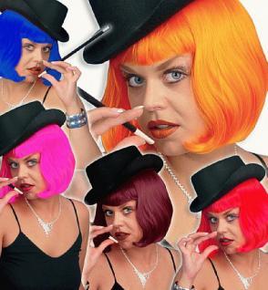 Perücke Lola neon 5 Farben