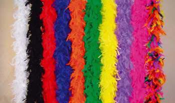 Federboa Boa Feder 10 Farben zur Wahl Karneval Halloween