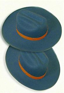 Texashut Cowboyhut mit Lederband / Nieten