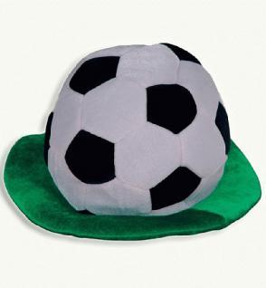"""Hut """" Fußball mit Rasen """""""