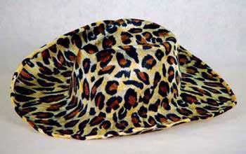 Cowboyhut Leopard Hut Leopard Leopardenhut Fasnet Fasching Halloween