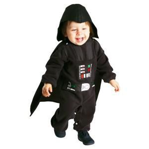 Kostüm Darth Vader Star Wars Strampler Krieg der Sterne - Vorschau