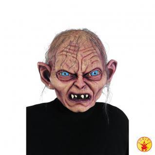 Gollum Maske Maske Gollum Original Lizenz Herr der Ringe Kostüm Gollum The Hobbit - Vorschau
