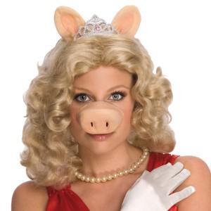 Miss Piggy Set The Muppets Kostüm Miss Piggy - Vorschau