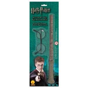 Harry Potter Brille und Zauberstab Harry Potter Kostüm Kostüm Harry Pooter - Vorschau