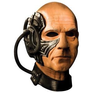 Star Trek Original Locutus Deluxe Latex Maske Star Trek Maske Kostüm Star Trek - Vorschau