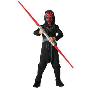 Star Wars Darth Maul Kostüm Set Krieg der Sterne Kostüm Kinder