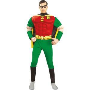 Kostüm Robin Batman Deluxe Muscle Chest Robin Batmankostüm - Vorschau