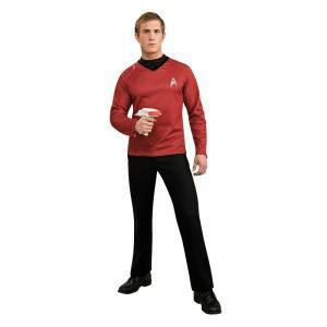 Star Trek Deluxe Shirt rot Kostüm Star Trek Shirt Star Trek