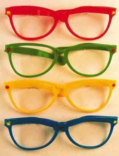 Riesen - Scherz - Brille ca. 30 cm Riesenbrille Scherzbrille - Vorschau