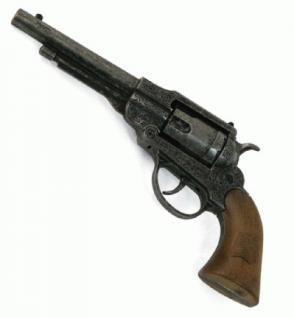 Revolver Pistole Navy Antik Metall 8-Schuss - Vorschau