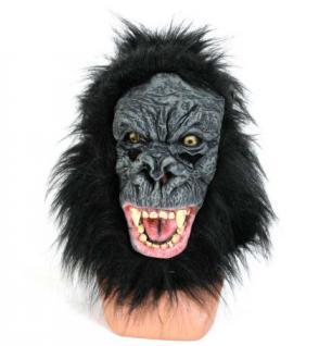 Gorillamaske Maske Gorilla Kostüm Gorilla Gorillakostüm Maske Affe Affenmaske Affenkostüm Gorilla - Vorschau