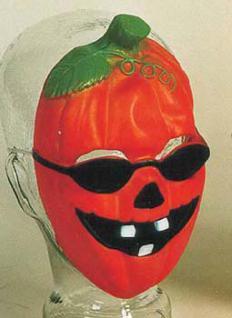 "Halbmaske "" Pumpkin "" Kürbis Maske Kürbis Kürbismaske"