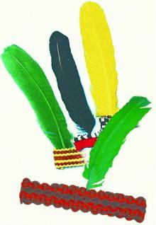 Indianer -Stirnband - Vorschau
