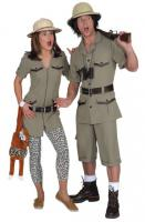 Safarianzug Anzug Safari Forscheranzug Expeditionsanzug Anzug Tropen Tropenanzug - Vorschau 2