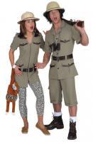 Safarikleid Kleid Tropen Expeditionsanzug Safarianzug - Vorschau 2