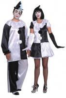 Pierrotkostüm Frauen Kostüm Pierrot Damen