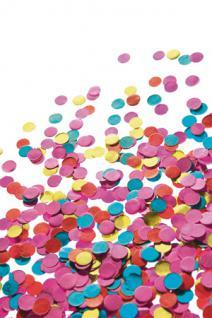 Konfetti 1 kg Konfetti bunt 1 KG 1000 Gramm - Vorschau