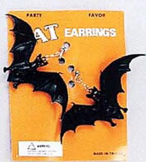 Ohrringe Fledermaus Fledermausohrringe 1 Paar