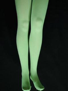 Strumpfhose grün blickdicht