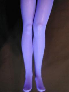 Strumpfhose blau blickdicht