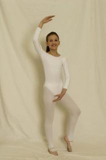 Body weiß 1/1 Arm Body langarm Langarmbody weiss - Vorschau 1