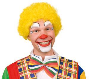 Perücke Hair Clown gelb Clownperücke