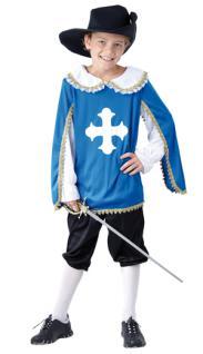 Kostüm Musketier Kinder 4-6 Jahre Musketierkostüm