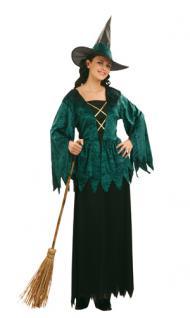 Kostüm Luxe Gothic Witch Hexe Hexenkostüm