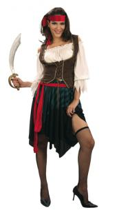 Kostüm Luxe Pirat Frauen Piratin Piratenkostüm - Vorschau