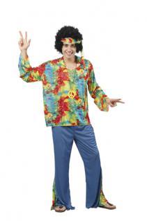 Kostüm Hippie superluxe Hippiekostüm Größe M/L