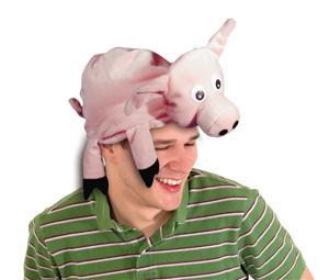 Hut Schwein Schweinehut Mütze Schwein Schweinemütze Hut