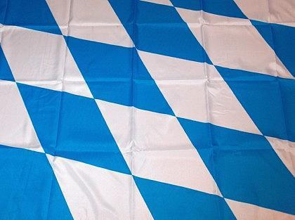 Flagge Fahne Bayern Raute Groß