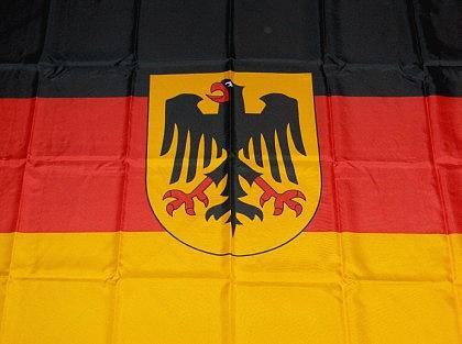 Fahne Deutschland groß mit Adler - Vorschau