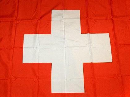 Fahne Flagge Schweiz groß - Vorschau