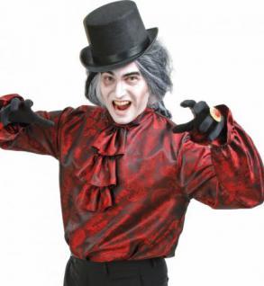 Hemd rot Vampir Pirat Vampirhemd edel Piratenhemd