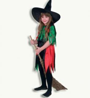 Kostüm Gifthexe Hexe für Kinder - Vorschau 1
