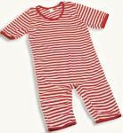 Badeanzug Ringel Ringelanzug rot-weiß