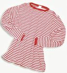 Ringelpulli Pulli Ringel Streifen rot-weiß Ringelshirt langarm