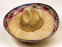 Sombrero Hut natur Mexikaner Mexikanerhut Made in Mexico