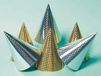 Mini-Partyhütchen 6 Stück