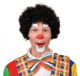 Perücke Clown Perücke Hair Clown schwarz Clownperücke Afroperücke Afro