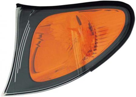 BLINKER SCHWARZ ORANGE LINKS TYC FÜR BMW 3ER Limousine Touring E46 01-05