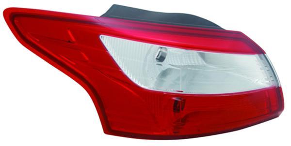 RÜCKLEUCHTE / HECKLEUCHTE LINKS TYC FÜR FORD Focus III Limousine 11-