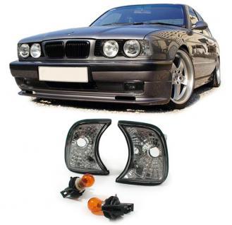 5er BMW E34 88-95 KLARGLAS BLINKER CHROM